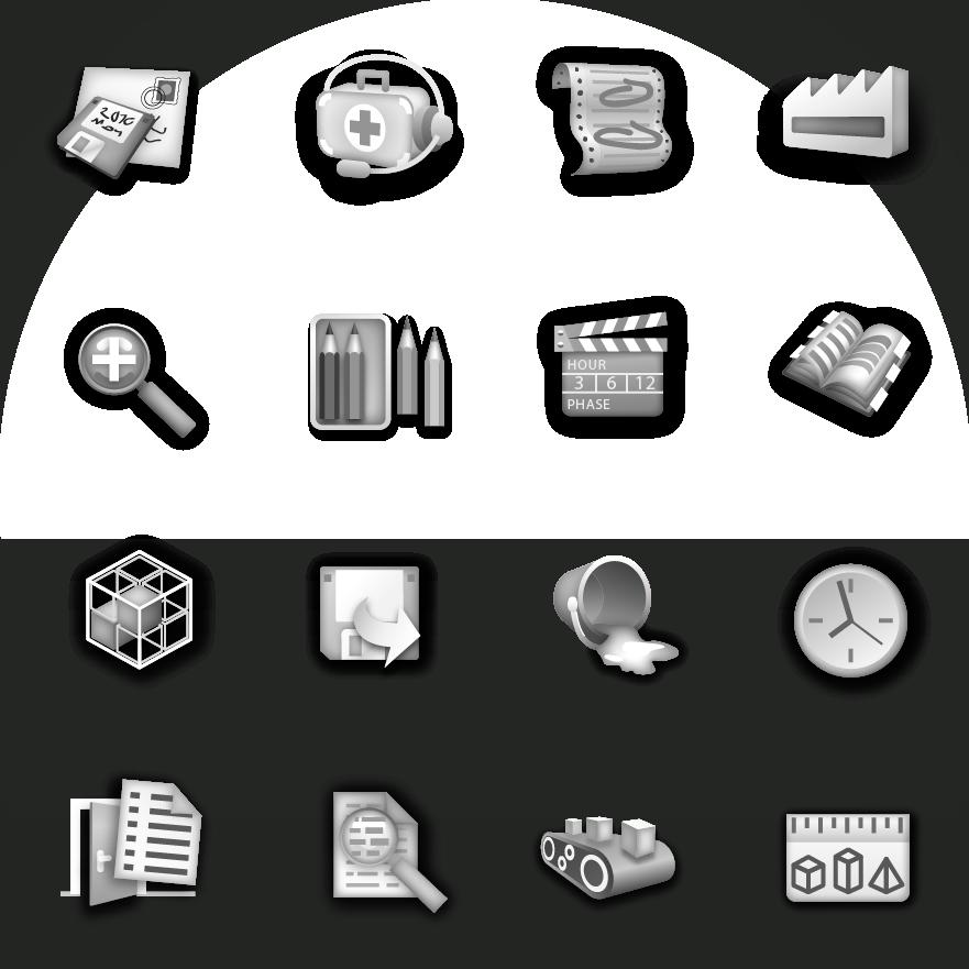 Programm-Symbole