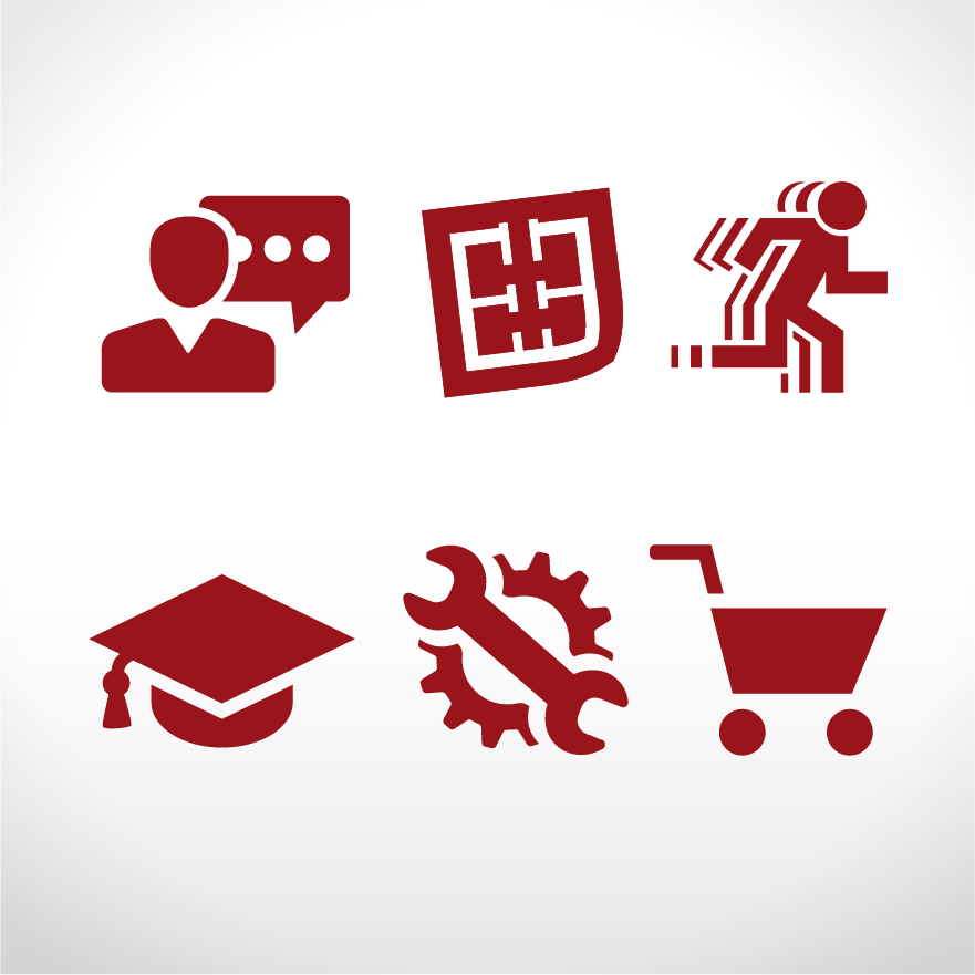 Bereichsymbole